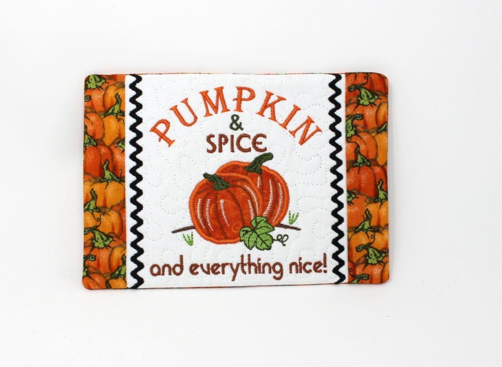 Pumpkin Spice Mug Rug 5 7 Oma S Place