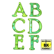 Applique Hobby Horse Font (4x4)