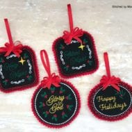 Felt Ornaments Set 2 (4x4)