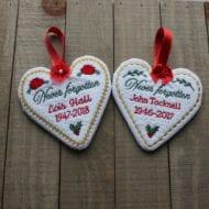 Memorial Ornaments (4x4)