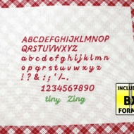 Tiny Zing Font