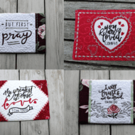 Inspirational Mug Rug Set (Set of 4)
