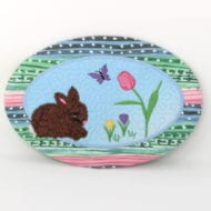 Bunny Snackmat (6x10)