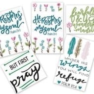 Inspirational Designs Set 1