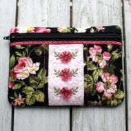 Fringed Flowers Zip Bag (5x7)