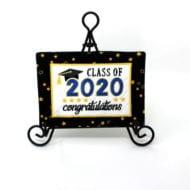 Graduation Mug Rug (5x7)
