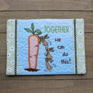 Together Mug Rug