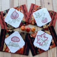 Autumn Mug Rug Set