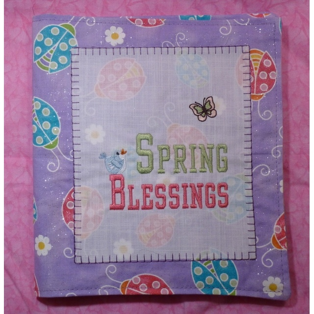Spring Blessings (Washable Coloring Book)