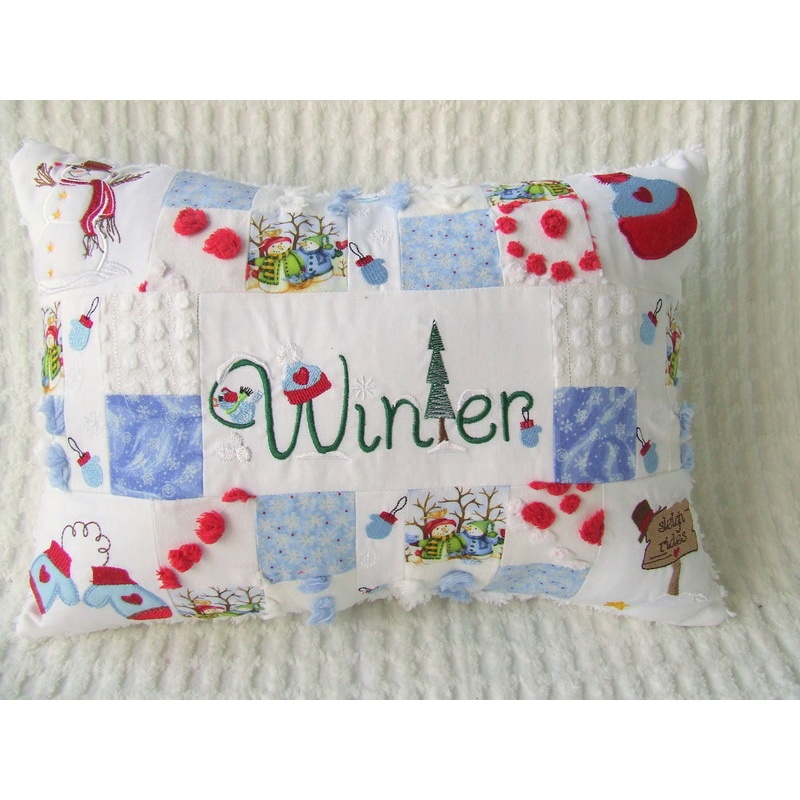 Winter Pillow Set