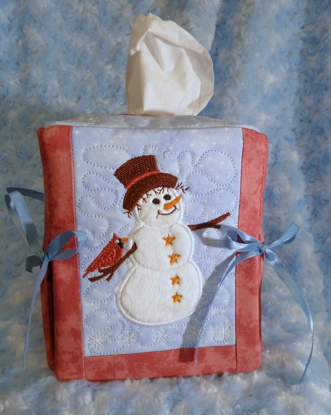 Winter Tissue Box